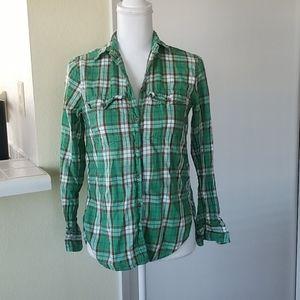 Ralph Lauren Denim & Supply Plaid Cotton Shirt